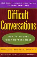 Difficult Conversations PDF