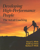 Developing High Performance People Book