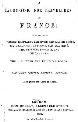 A Hand book for Travellers in France