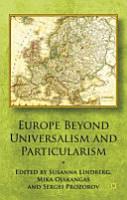 Europe Beyond Universalism and Particularism PDF