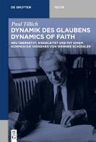 Dynamik des Glaubens  Dynamics of Faith  PDF