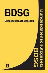 Bundesdatenschutzgesetz - BDSG
