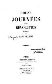 Douze journées de la révolution: poëmes