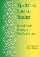 Tips for the Science Teacher PDF