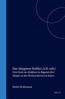 Das Aleppiner Kalifat  A D  1261