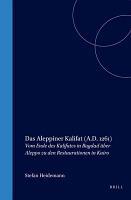 Das Aleppiner Kalifat  A D  1261  PDF