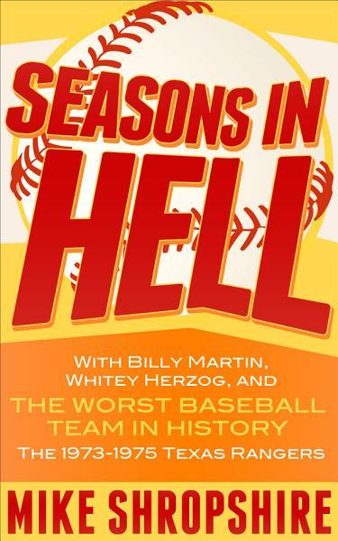 Download Seasons in Hell Book