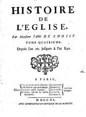 Histoire de l'eglise: Volume4
