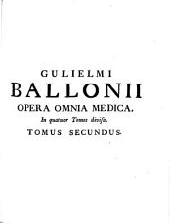 Opera Omnia: In quatuor Tomos divisa, Volume 2