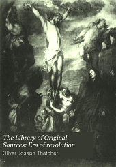The Library of Original Sources: Era of revolution