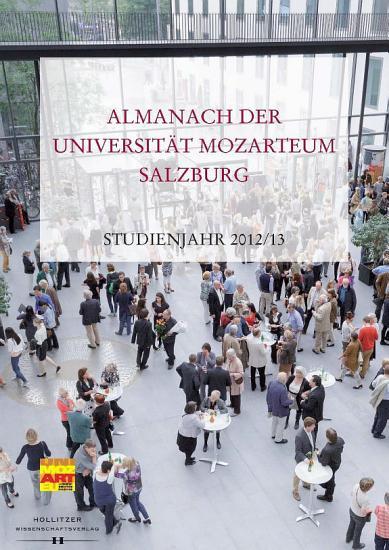 Almanach der Universit  t Mozarteum Salzburg PDF