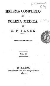 Sistema completo di polizia medica: Volume 2