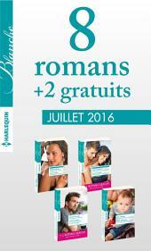 8 romans Blanche + 2 gratuits (no1274 à 1277 - Juillet 2016)