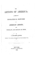 The Artists of America  a Series of Biographical Sketches of American Artists PDF