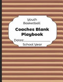 Youth Basketball Coaches Blank Playbook Dates