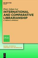 International and Comparative Librarianship PDF