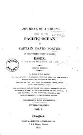 Journal of a Cruise Made to the Pacific Ocean: Volume 1