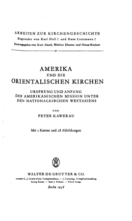 Arbeiten zur Kirchengeschichte PDF