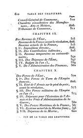 Statistique élémentaire de la France: contenant les principes de cette science et leur application à l'analyse de la richesse, des forces de la puissance de l'empire français