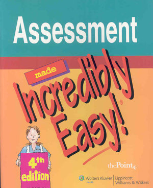 Assessment Made Incredibly Easy  PDF