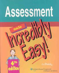 Assessment Made Incredibly Easy  Book PDF