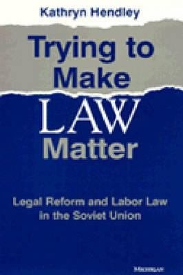 Trying to Make Law Matter PDF