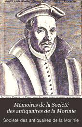 Mémoires de la Société des antiquaires de la Morinie: Volume26