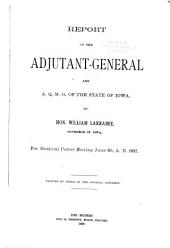 Report of the Adjutant-General to the Governor of Iowa