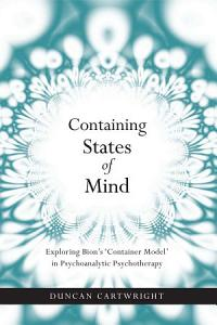 Containing States of Mind Book