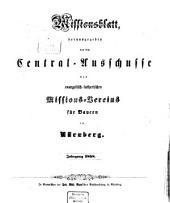 Missionsblatt: 1858