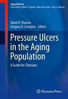 Pressure Ulcers in the Aging Population PDF