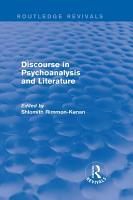 Discourse in Psychoanalysis and Literature  Routledge Revivals  PDF