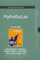 Government in America 2012 Mypoliscilab Access Code PDF