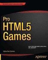 Pro HTML5 Games PDF