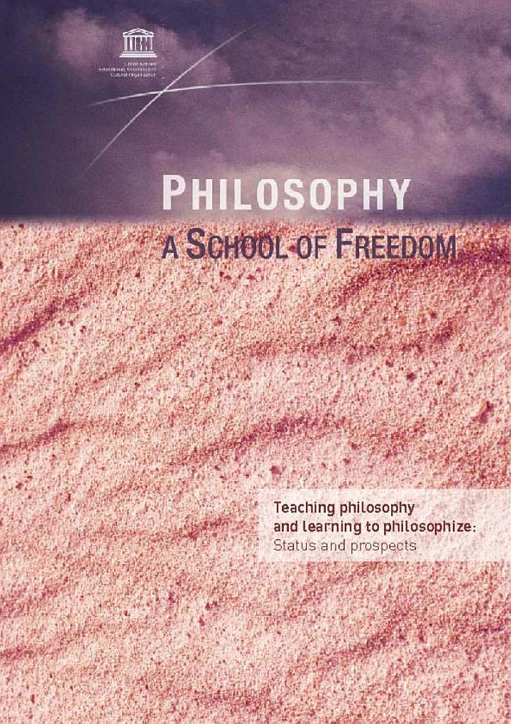 Philosophy a School of Freedom