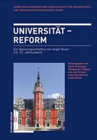 Universit  t   Reform PDF