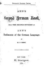 Ahn's Second German Book