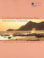 Caribbean South American Plate Interactions  Venezuela PDF