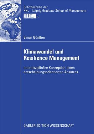 Klimawandel und Resilience Management PDF
