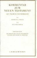 Die Briefe des Neuen Testaments und die Offenbarung Johannis PDF