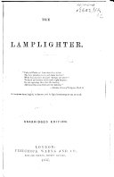 The Lamplighter. By M. S. Cummins