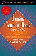 Download Choosing Powerful Words Book