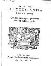 De constantia libri II.