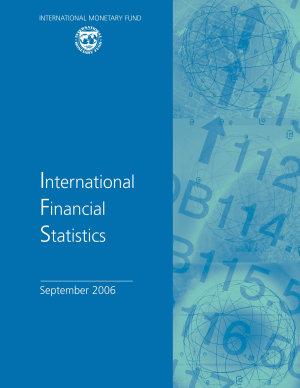 International Financial Statistics September 2006 PDF