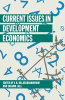 Current Issues in Development Economics PDF