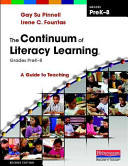 The Continuum of Literacy Learning  Grades PreK 8 Book