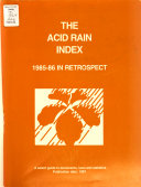 The Acid Rain Index PDF