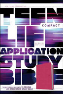Teen Life Application Study Bible NLT Compact