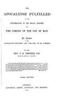 The Apocalypse Fulfilled PDF