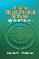 Testing Object Oriented Software PDF
